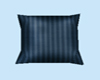 Blue Satin Pillow