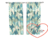 Blue Mountain L Curtains