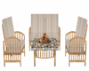 BH Firepit in rattan