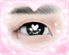 ♡ sparkly hearts l blk