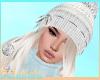 ! Pompom Hat+Angel Hair