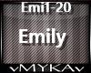 Kartky - Emily