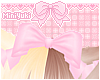 -M- Pink bow
