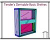 Derivable Basic Shelves