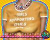 GIRLS SUPPORTING GIRLS!!