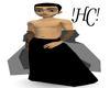 !HC! Black 2 Piece Robe