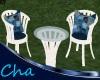 Cha`Yard Table & Chairs