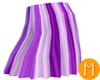 -MR- StripedSkirt Purple