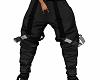 DWH tomboy black pants