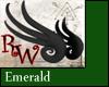 Mini Wyrm Wings Emerald