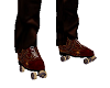 Steampunk Roller Skates