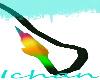 Black Neon Lion Tail M&F