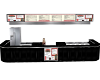 diner fast food counter