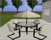 Patio Table/Chairs~Cream