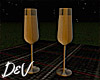 !D Champagne Glass