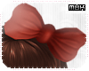 {J} Hopi HairBow2 | Red