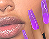 I│Jelly Nails Purple