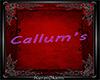 K - Custom Callum's Sign