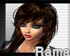 Emo hair brown