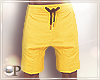 Summer Shorts Yellow