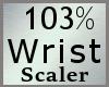 Wrist Scaler 103% M A