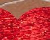 tappeto rosso cuore