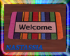 (Nat) Welcome Radio Mat