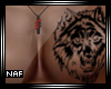 N | Wolf Tattoo Chest