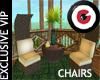 Rattan Chairs Set