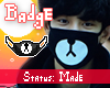 Badge~ KPOP Mask (MADE)
