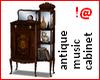 !@ Antique music cabinet