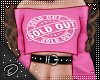 lDl Sold Out Pink Top