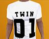 Twin 01 Shirt White (M)
