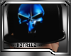 |C| Punisher Blue Cap