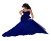DRESS BLUE ELEGANTE