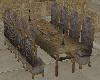 Whitefang dinnner table
