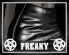 RL Black Leather Skirt