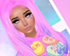 🅜 CANDY: hair pink 1