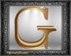 Gold Letter G ~ NP