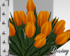Orange Tulips| Wedding