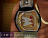 Kakis Custom Champ Belt