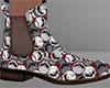 Skulls Chelsea Boots 1 M