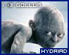 I <3 Gollum sticker