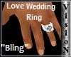 .V. Wedding Ring (male)