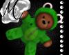 ~M~ Frog Suit Teddy