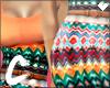 C. Tribal Maxi Dress|BM