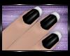 ♡ Black/White Nails