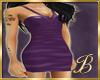 halty dress purple