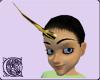 Gold Black Unicorn Horn