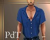 PdT Blue Bimini Shirt M